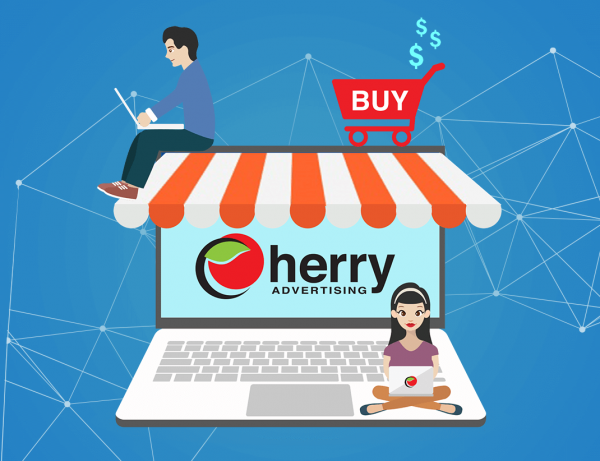 Development of an online store, ECOM-CherryAdv