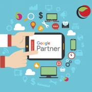 Партньор на гугъл. Над 360 печеливши AdWords кампании: Shopping, Display, YouTube, Search, Mobile Ads и други.